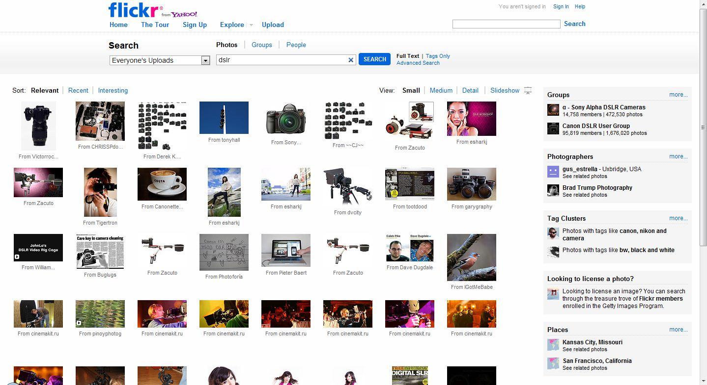 flickr 300x163 Popüler Yabancı Fotoğraf Paylaşım Siteleri