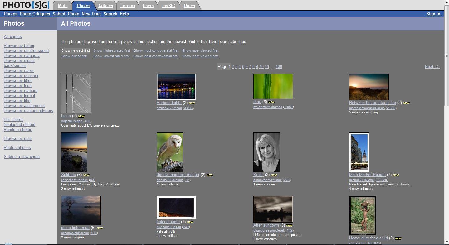 sig 300x163 Popüler Yabancı Fotoğraf Paylaşım Siteleri
