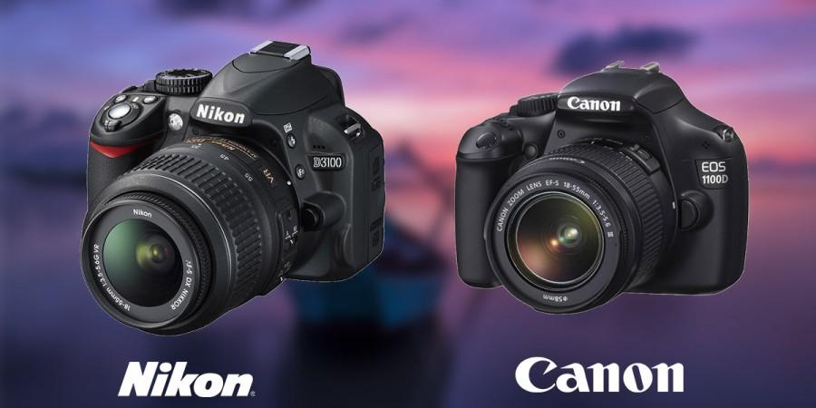 Nikon D3100 mü Canon 1100D mi? D3100 vs 1100D?