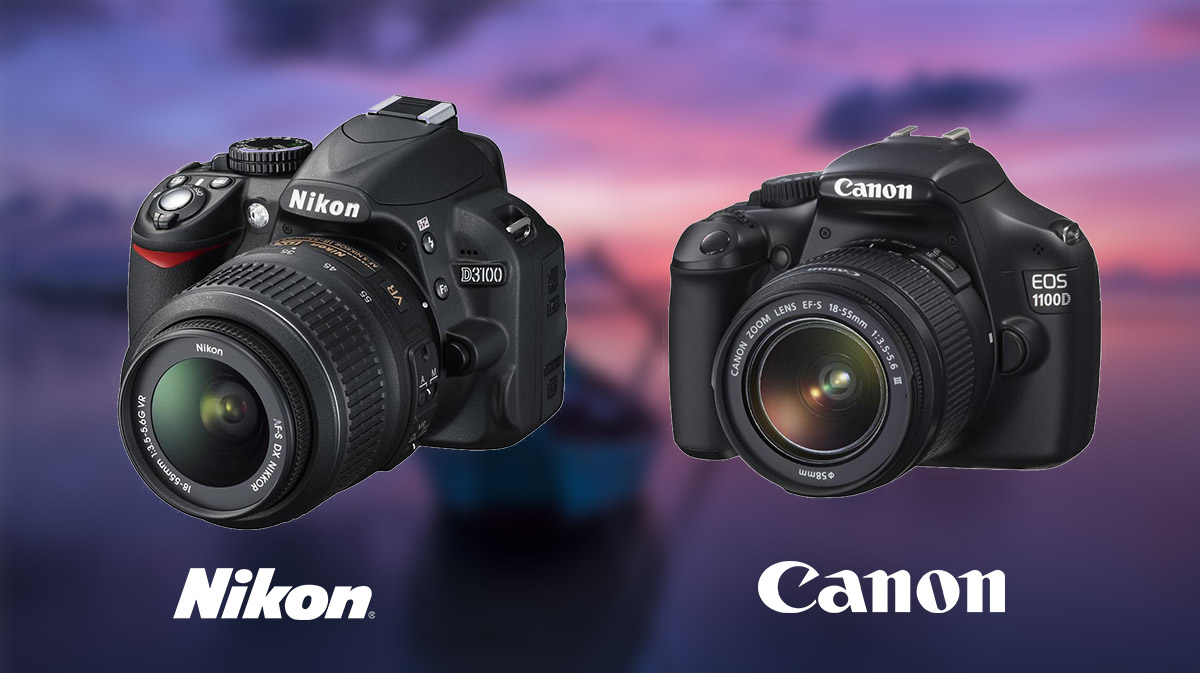 Nikon D3100 vs Canon 1100D
