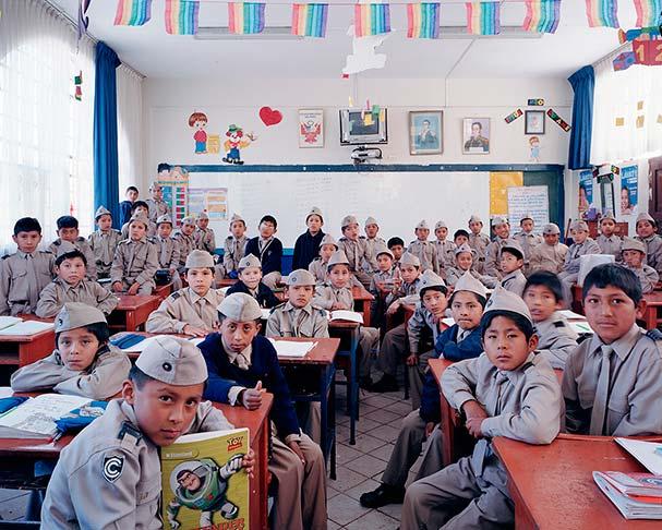 Peru, matematik dersi