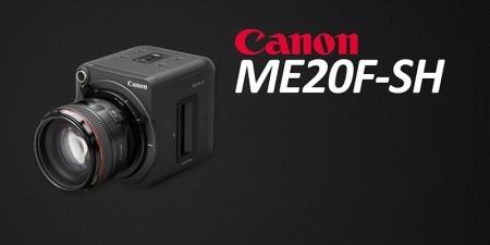 Canon'un 4.000.000 ISO'ya Sahip Yeni Kamerası ME20F-SH