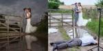 Yansımalı Düğün Fotoğrafı Çekimi