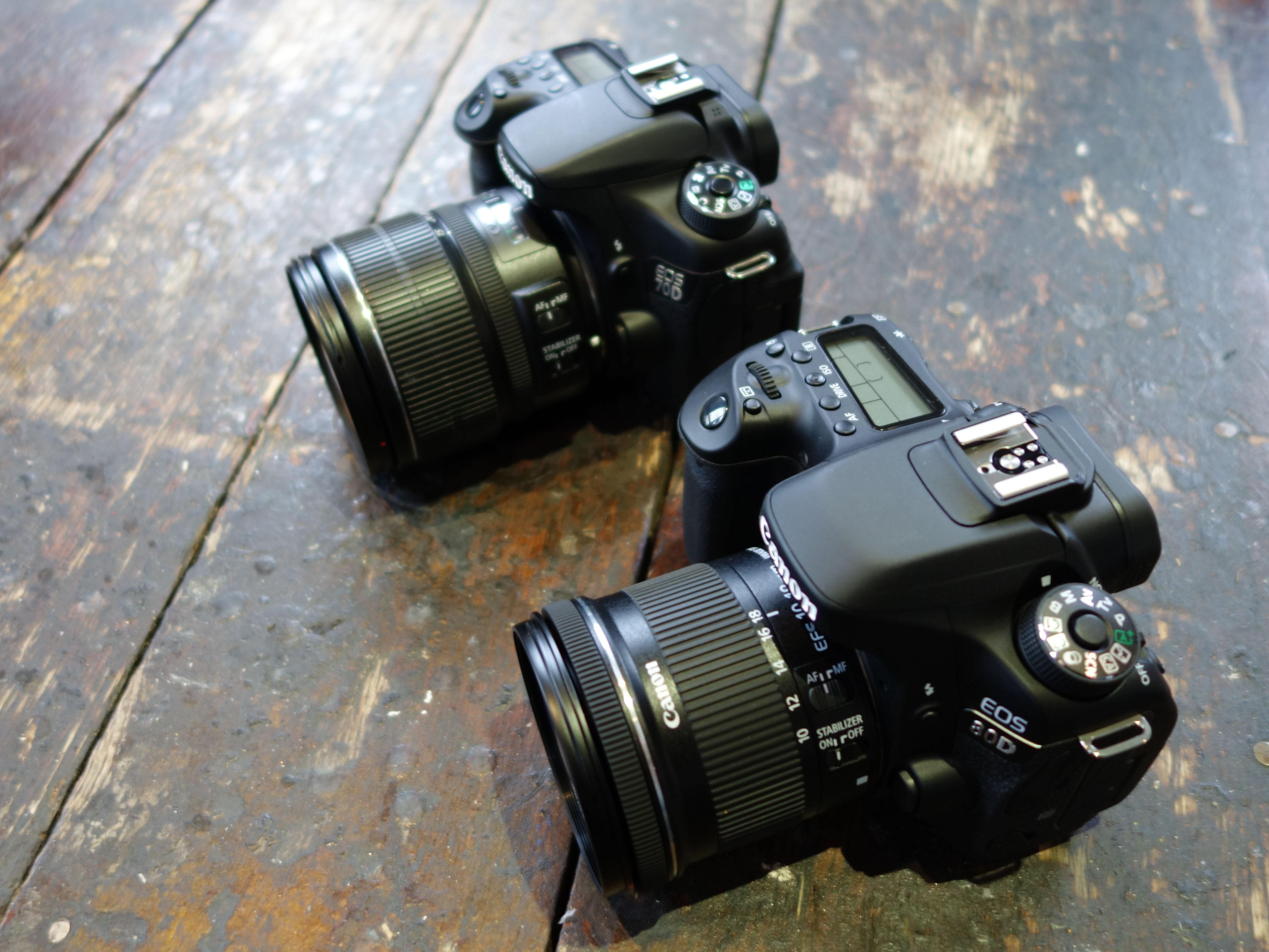 canon 80d vs canon 70d
