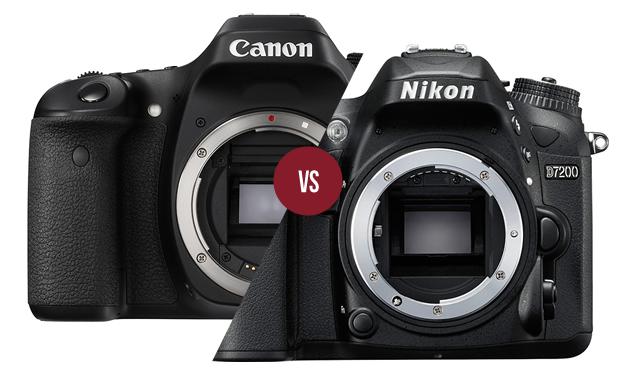 Canon 80D vs Nikon D7200 Karşılaştırması