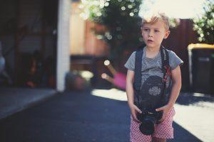 çocuk fotoğraf makinesi
