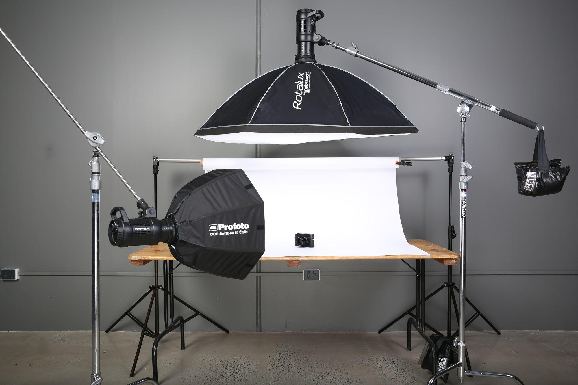 ürün fotoğrafı için ışık